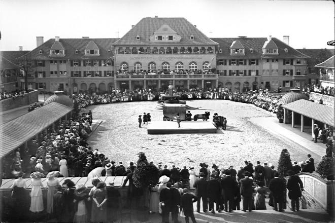 Hans Sachs-Spiele auf der Margarethenhöhe 1913
