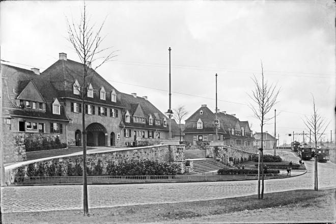 Margarethenhöhe, Torbogenhaus, ca. 1913-20