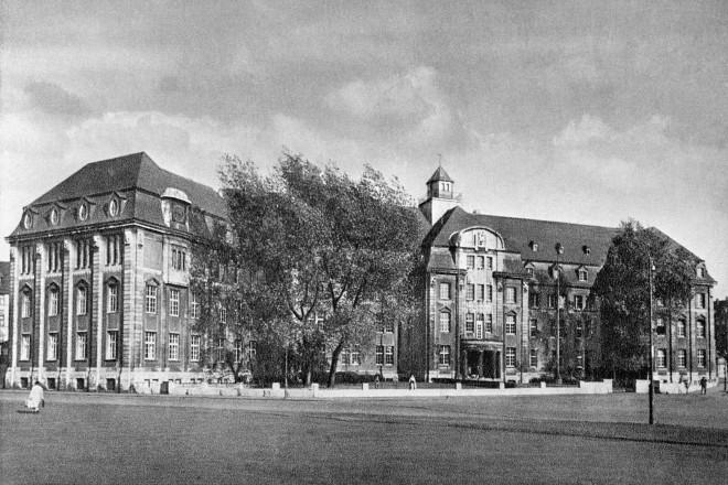 Königliche Maschinenbauschule, 1920er Jahre Schützenbahn/Gerlingstraße