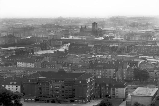 Umgebung Viehoferplatz September 1967