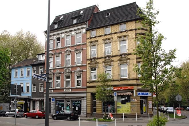 Essen, Nordviertel, Altenessener Straße Ecke Kleine Stoppenberger Straße