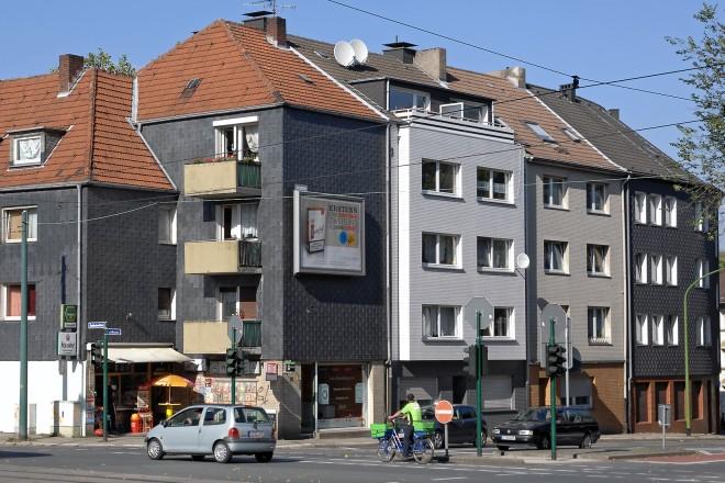 Essen, Nordviertel, Goldschmidtstraße Ecke Engelbertstraße