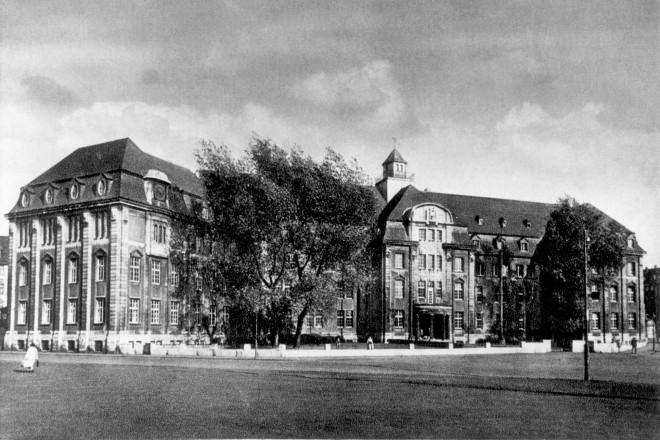 Maschinenbauschule an der Schützenbahn, um 1930