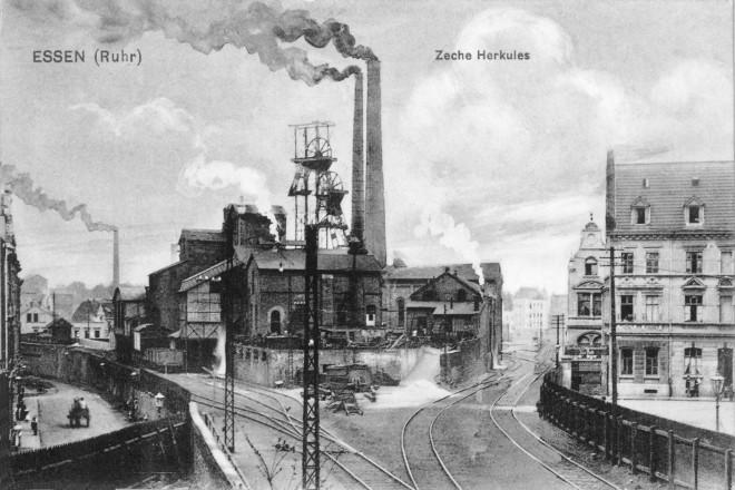 Ostviertel Zeche Herkules um 1900