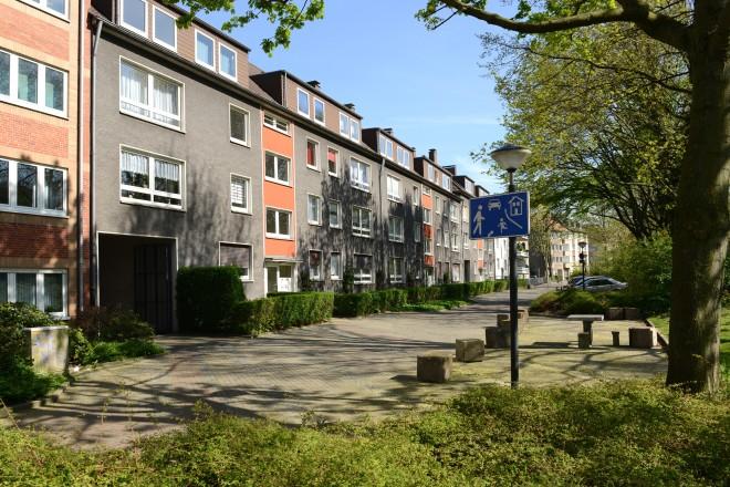 Ostviertel; Blick in die Immestraße