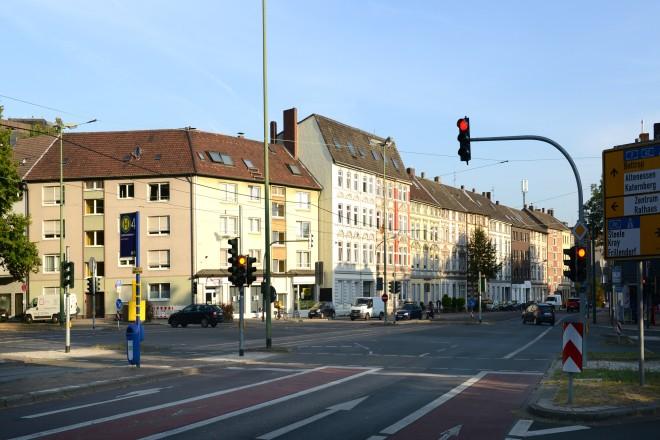 Ostviertel Kreuzung Engelbertstraße - Goldschmidtstraße