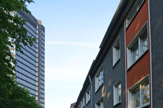 Blick in die Immestraße