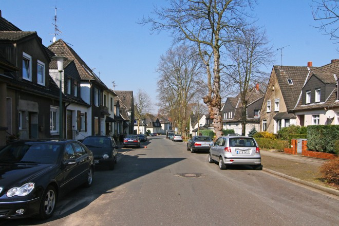 Finefaustrasse in Rellinghausen