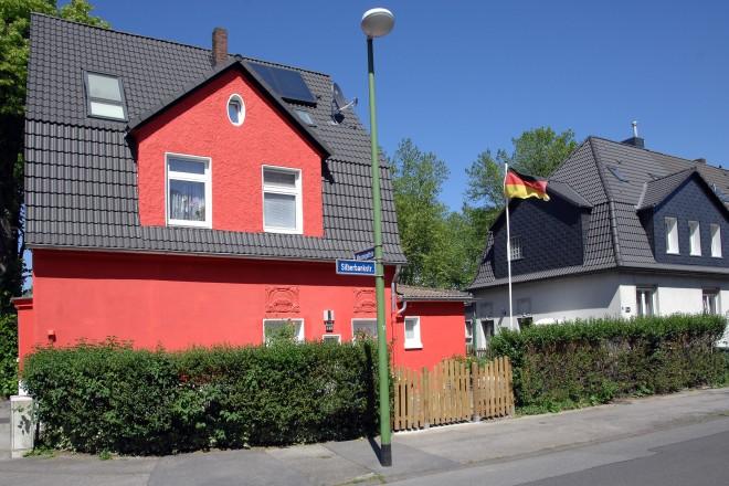 Silberbankstraße, Gottfried-Wilhelm-Siedlung in Essen-Rellinghausen.