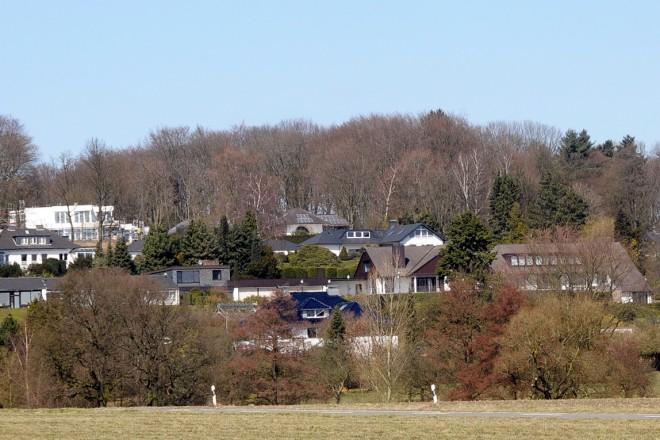 """Essen - Schuir Blick auf die Siedlung """" Schau ins Land """""""