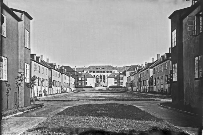 Stadtwaldsiedlung Grünhof ( Heide ) vor 1939
