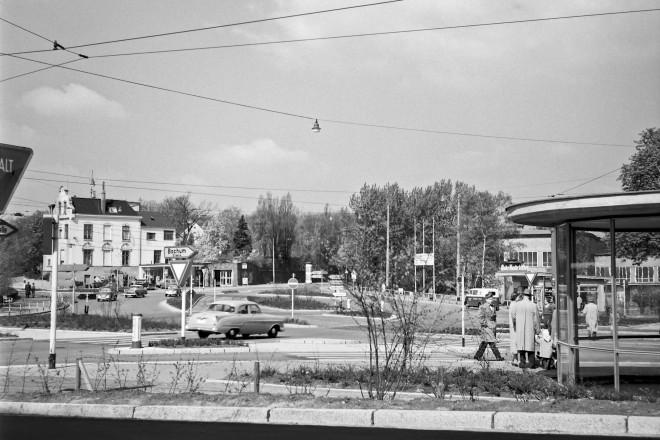 Stadtwaldplatz Mai 1958