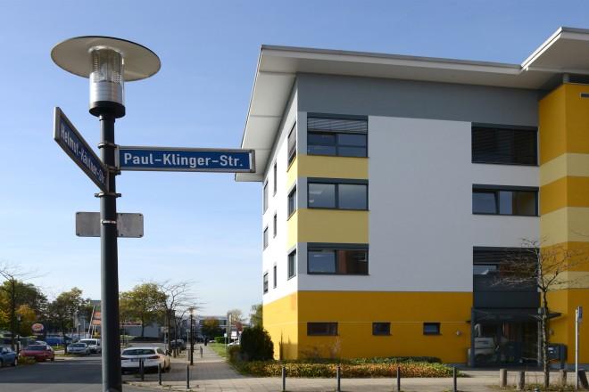 Westviertel Paul-Klinger-Strasse, Ecke Helmut-Käutner-Strasse