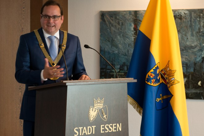 Oberbürgermeister Thomas Kufen.