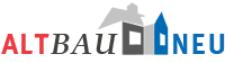 Grafik: Schriftzug mit Häusern