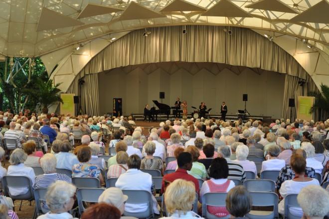 Konzert im Musikpavillon