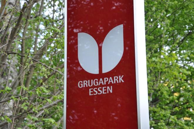 Eingangsstelen an den Grugapark-Eingängen