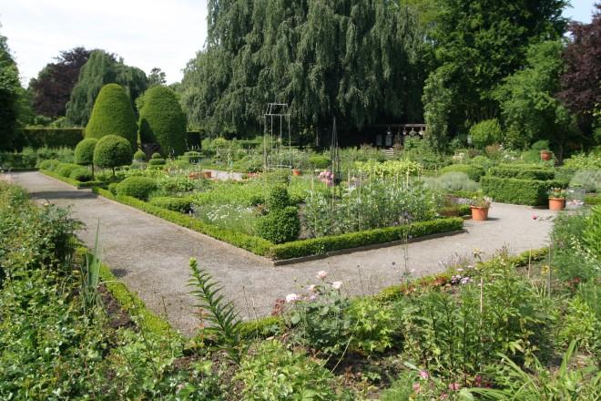Bauerngarten im Botanischen Garten des Grugaparks