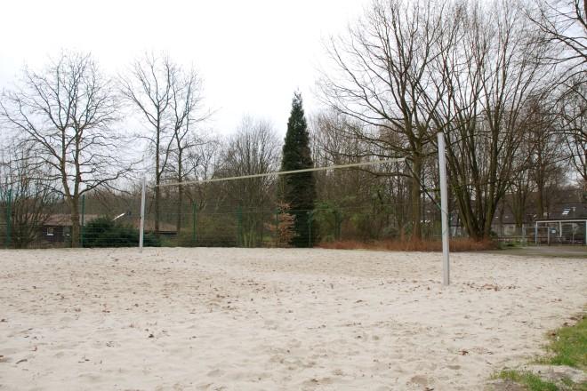 Beachvolleyballfeld im Grugapark