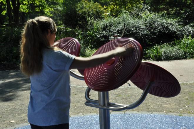 Gesundheitspfad im Grugapark
