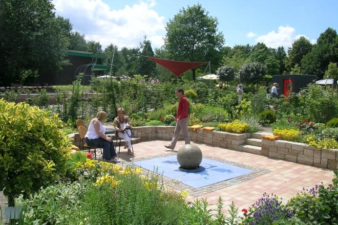 Garten in der Mustergartenanlage