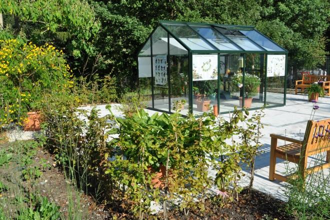 Schmetterlingsgarten in der Mustergartenanlage