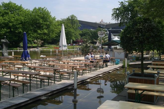 Wassergarten am Kurhaus