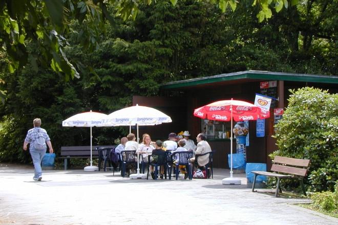 Kiosk am Margarethensee