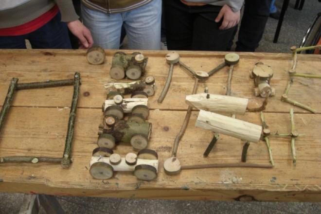 Arbeitsergebnisse aus der Holzwerkstatt
