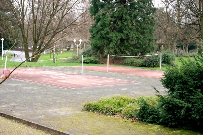 Badmintonfelder