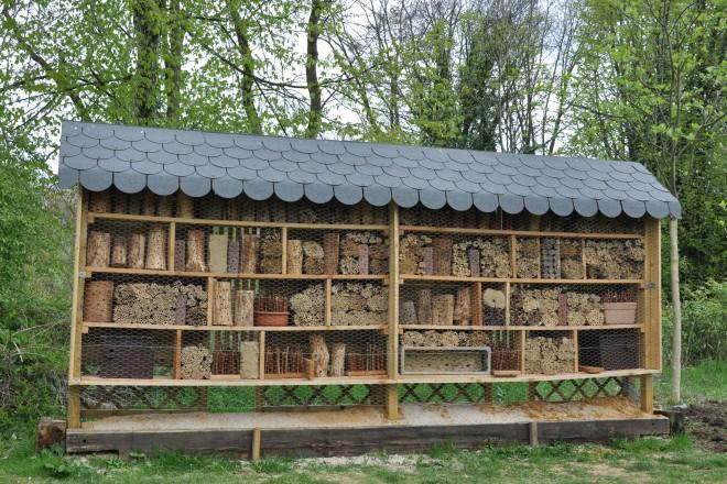 Insektenhotel am Haus der Bienen